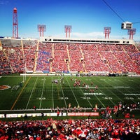 Photo taken at McMahon Stadium by Nicholas F. on 7/1/2012