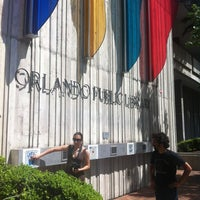 Photo taken at Orange County Library - Orlando Public Library by Kimberly B. on 4/22/2012
