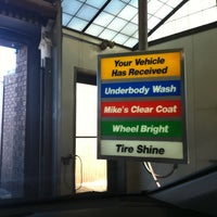 Photo taken at Mike's Express Car Wash by DJ F. on 2/12/2011