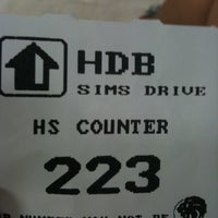 Photo taken at HDB Sims Drive Branch Office by Emma N Paul H. on 2/7/2011