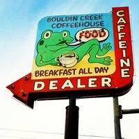 Photo taken at Bouldin Creek Café by Paula W. on 3/13/2012