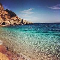 Photo taken at Spiaggia dei Gabbiani by Sara B. on 7/22/2012