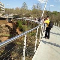 Photo taken at Liberty Bridge by Tim S. on 3/18/2012