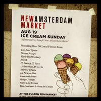 Photo taken at New Amsterdam Market by kristy b. on 8/19/2012