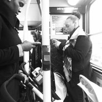 Photo taken at TfL Bus 140 by sinister p. on 1/25/2012