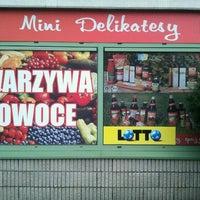 Photo taken at Mini Delikatesy by Zbigniew B. on 10/8/2011