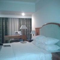Photo taken at Ramada Tashkent Hotel by Nikita N. on 5/15/2012