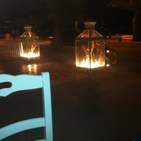 Photo taken at ammos beach bar by Gina S. on 7/4/2012