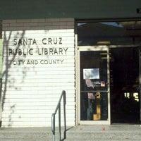 Photo taken at Santa Cruz Public Libraries Downtown Branch by Morgan C. on 1/4/2012