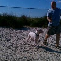 Photo taken at Davis Island Dog Park by Cara D. on 12/17/2011