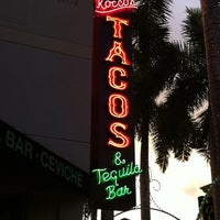 Photo taken at Rocco's Tacos and Tequila Bar by Christopher H. on 6/12/2011