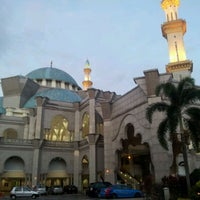 Photo taken at Masjid Wilayah Persekutuan by Noornajila on 1/8/2012