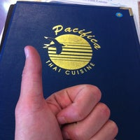 Photo taken at Pacifica Thai Cuisine by Aaron L. on 8/1/2012