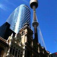 Photo taken at Sydney Tower Eye by Steve B. on 8/26/2012