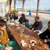 Photo taken at El Passatge Bar by Alvaro R. on 12/24/2011