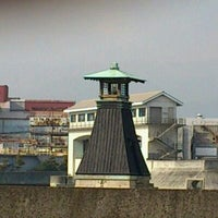 Photo taken at Imazu Lighthouse by Toshimasa H. on 1/10/2012