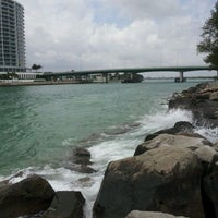 Photo taken at Bal Harbour Jetty by Albert M. on 5/13/2012