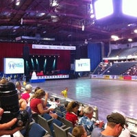 Photo taken at Enmax Center by Gilles P. on 7/26/2012