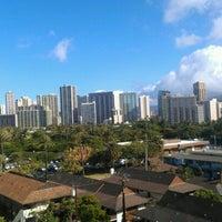 Photo taken at Embassy Suites by Hilton Waikiki Beach Walk by Thomas C. on 7/30/2012