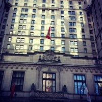 Photo taken at The Fairmont Hotel Vancouver by Fabio R. on 2/4/2012