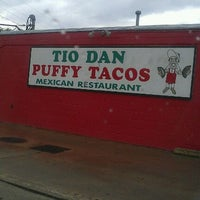 Photo taken at Tio Dan's Puffy Tacos by Jenni S. on 3/28/2012