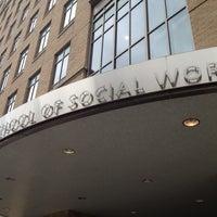 Photo taken at Columbia University School of Social Work by Manuel B. on 4/26/2012