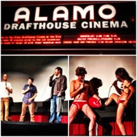 Photo taken at Alamo Drafthouse Cinema – Ritz by bobb x h. on 3/18/2012