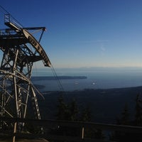 Photo taken at Top of Grouse Grind by Lenny G. on 7/5/2012