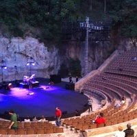 Photo taken at Teatre Grec by Helena S. on 7/27/2012