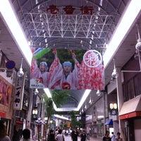 Photo taken at 帯屋町 壱番街 by S H. on 8/18/2012