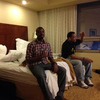 Photo taken at Marriott Hotel - City Center by Michael N. on 4/14/2012