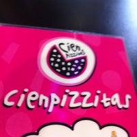 Photo taken at CienPizzitas by Antonio Jesus G. on 5/27/2012