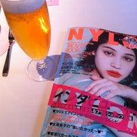 Photo taken at NYLON CAFE by Maiko O. on 1/22/2012