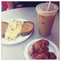 Photo taken at Cafe Alfresco by Erica O. on 8/21/2011