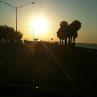 Photo taken at Courtney Campbell Causeway by Jeff K. on 8/24/2011
