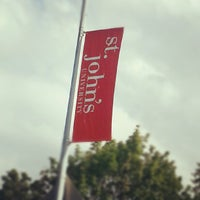 Photo taken at St. John's University by STJnow on 8/18/2012