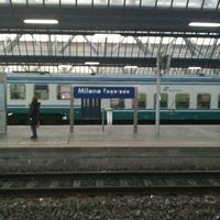 Photo taken at Milano Rogoredo Railway Station (IMR) by Lorena M. on 1/28/2011