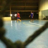 Photo taken at Futsal Centre Tamparuli by Yoq H. on 8/12/2011