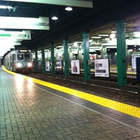 Photo taken at MBTA Park Street Station by Ryan C. on 12/4/2011