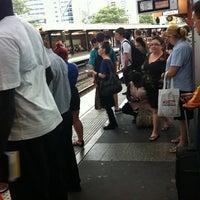 Photo taken at Parramatta Station by Chloe M. on 2/28/2012