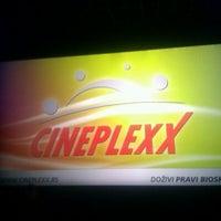 Photo taken at Cineplexx by Miloš on 3/22/2012