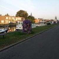 Photo taken at Kanaal Leuven - Dijle by Francois Y. on 9/4/2012