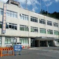 Photo taken at Kesennuma City Hall by くらら on 9/2/2012