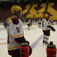 Photo taken at Mariucci Arena by Emma W. on 10/2/2011