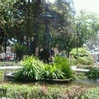 Photo taken at Plaza de Armas by Paola V. on 10/27/2011
