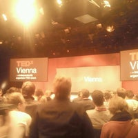 Photo taken at TEDxVienna by Nemanja D. on 10/22/2011