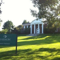 Photo taken at Babson College by Frederico P. on 9/12/2012