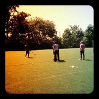 Photo taken at Johns Hopkins Practice Field by Emily R. on 7/1/2011