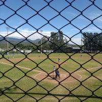 Photo taken at Campo de Béisbol by Andrea Á. on 1/14/2012