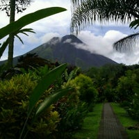 Photo taken at Volcán Arenal by Tjo on 10/8/2011